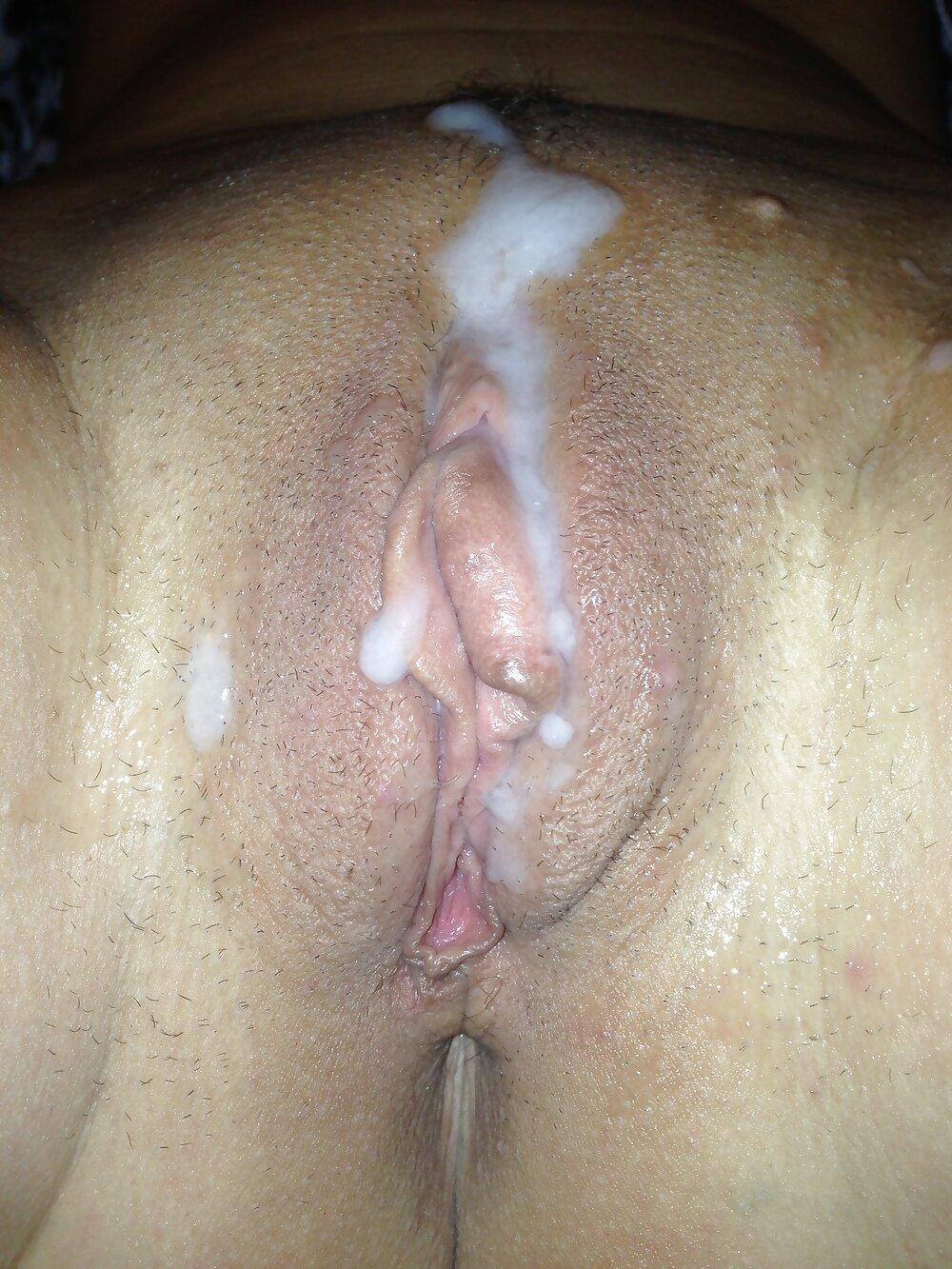 Сперма на лобке фото