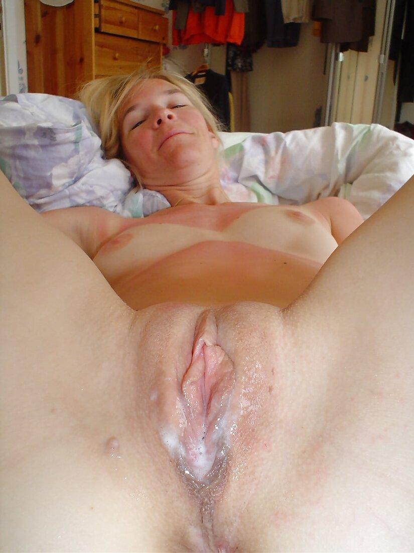 Сперма в пизде порно фото