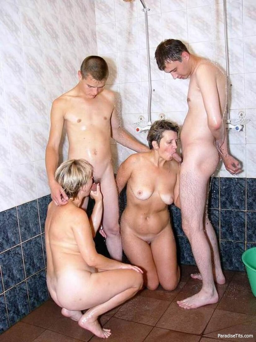 Порно молодые со зрелыми женщинами фото
