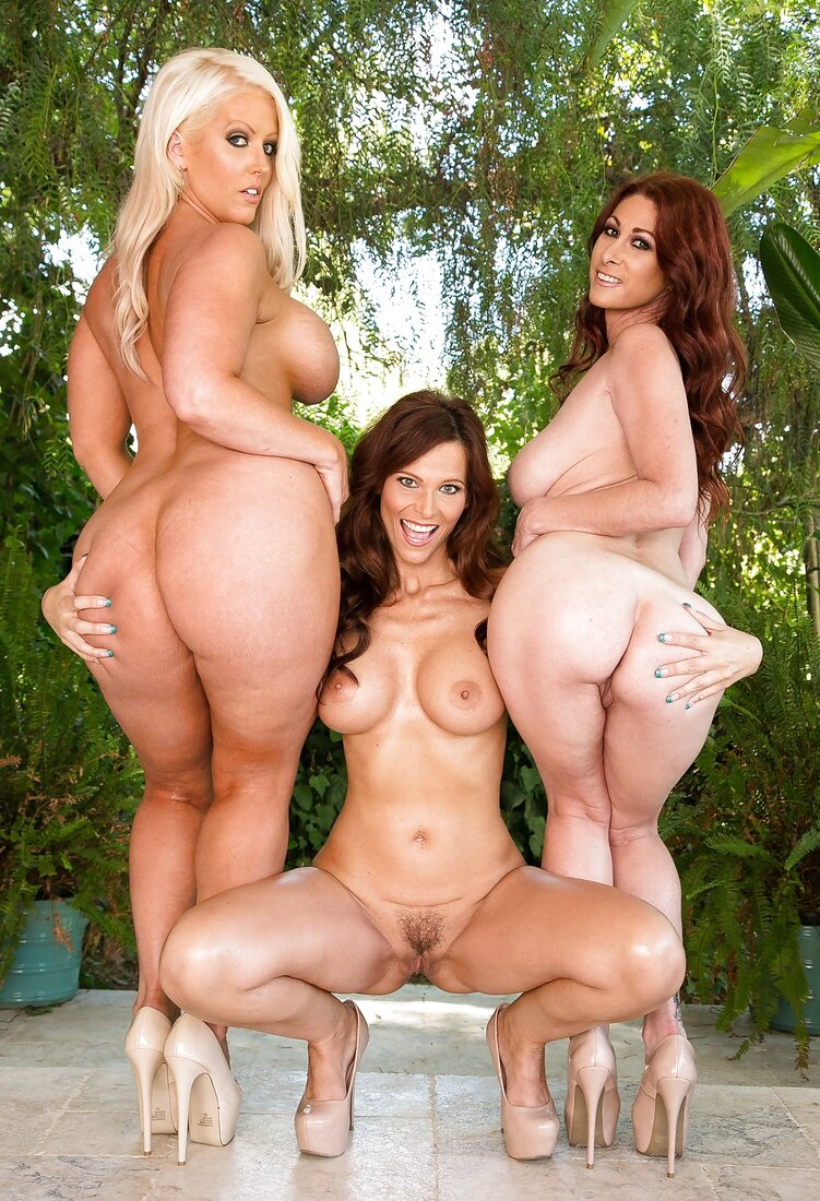 Порно сисястых жопастых женщин фото